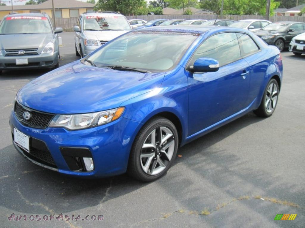 2010 kia forte koup sx in corsa blue 243141 autos of asia japanese and korean cars for. Black Bedroom Furniture Sets. Home Design Ideas