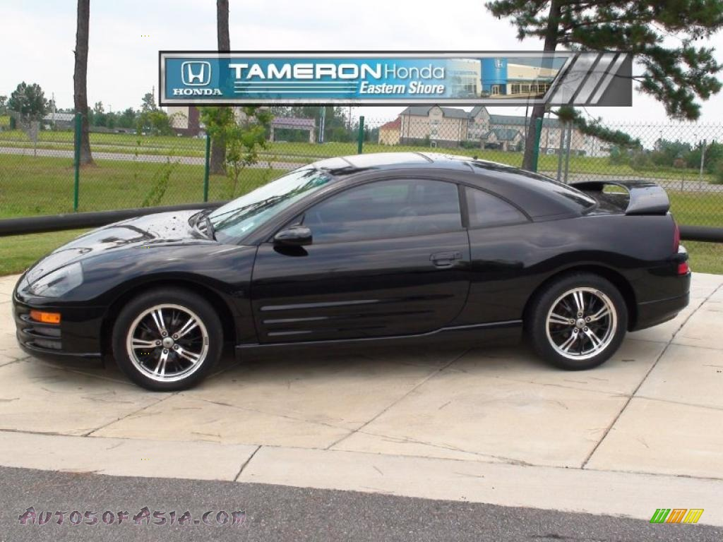 2000 mitsubishi eclipse gt coupe in kalapana black 028931 autos of asia japanese and. Black Bedroom Furniture Sets. Home Design Ideas