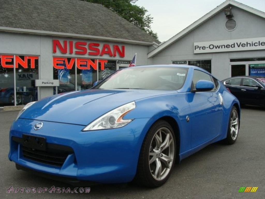 2009 Nissan 370z Sport Touring Coupe In Monterey Blue