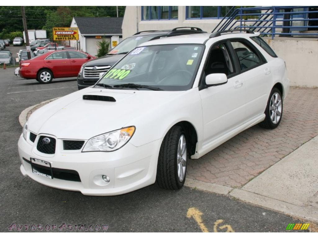 2007 subaru impreza wrx automatic related infomation 2007 subaru impreza wrx wagon in satin white pearl 804649 autos of vanachro Image collections