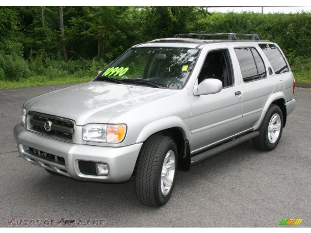 2003 nissan pathfinder le 4x4 in chrome silver metallic. Black Bedroom Furniture Sets. Home Design Ideas