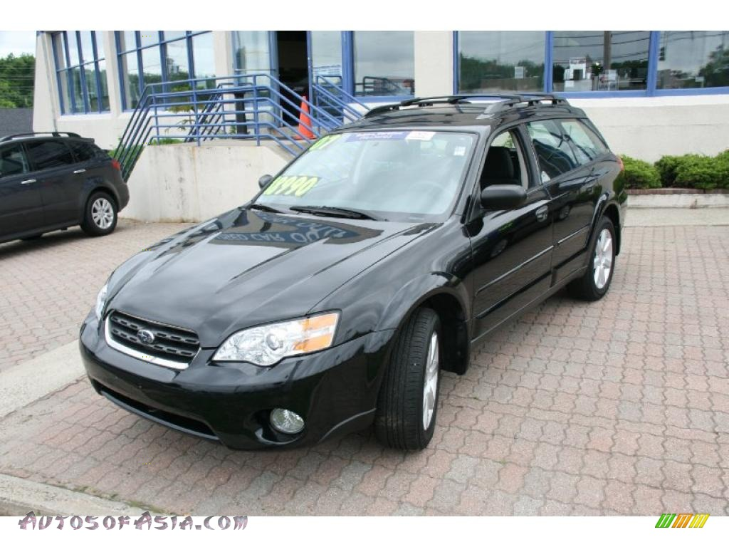 2007 subaru outback wagon in obsidian black pearl 322300 autos of asia japanese and. Black Bedroom Furniture Sets. Home Design Ideas