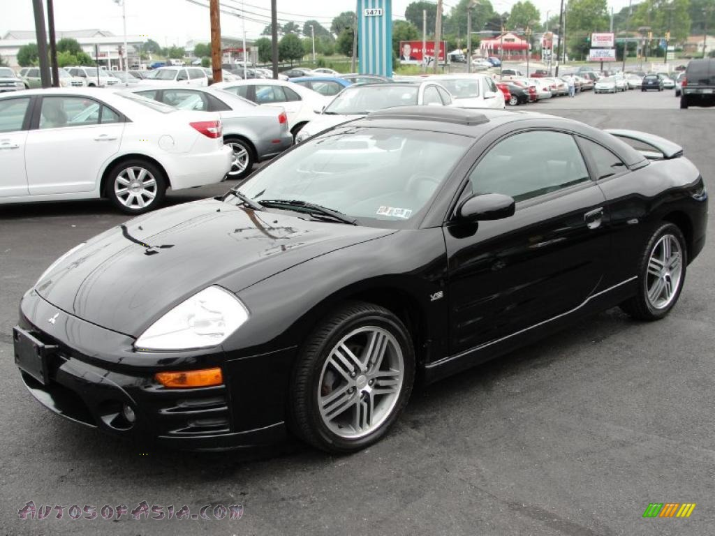 2003 Mitsubishi Eclipse Gts Coupe In Kalapana Black