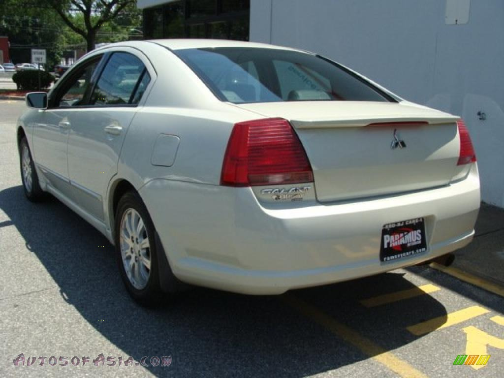 2006 mitsubishi galant es in dover white pearl photo 4. Black Bedroom Furniture Sets. Home Design Ideas