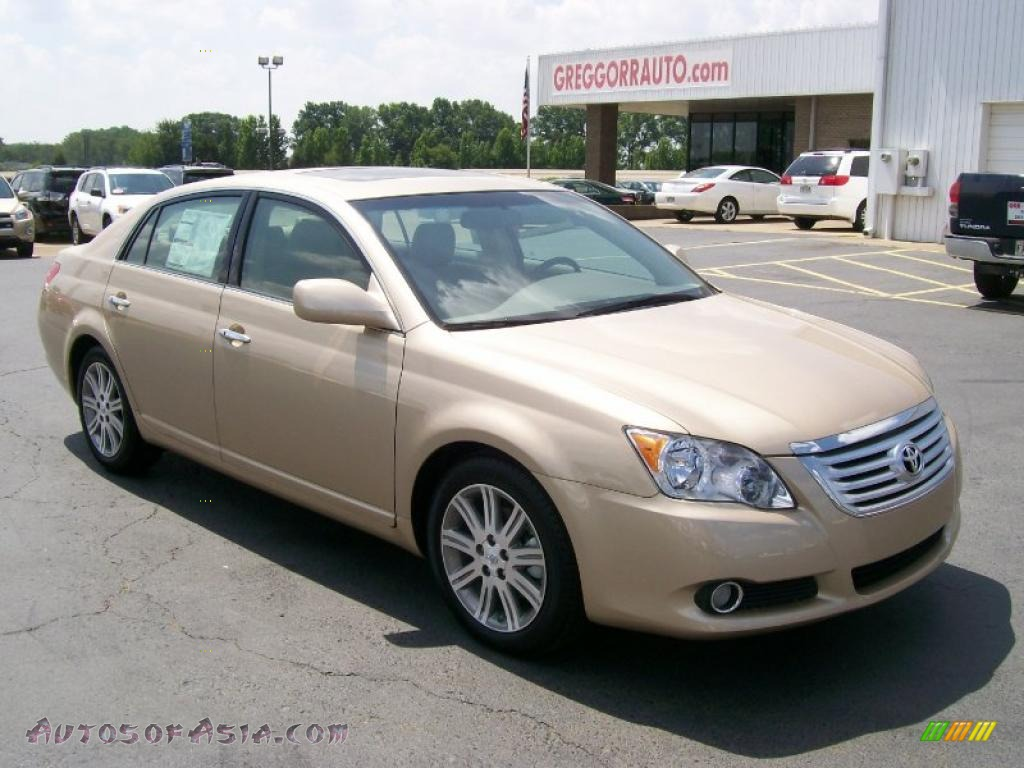 2010 Toyota Avalon Limited In Sandy Beach Metallic