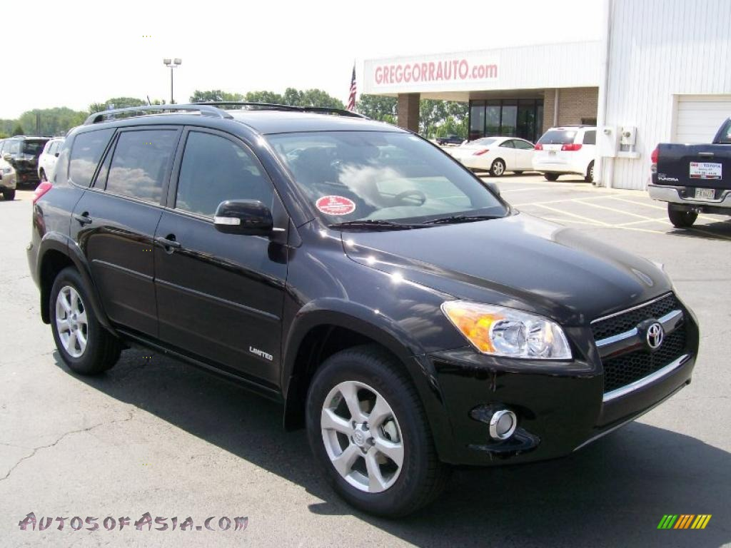 2010 Toyota Rav4 Limited In Black 033801 Autos Of Asia
