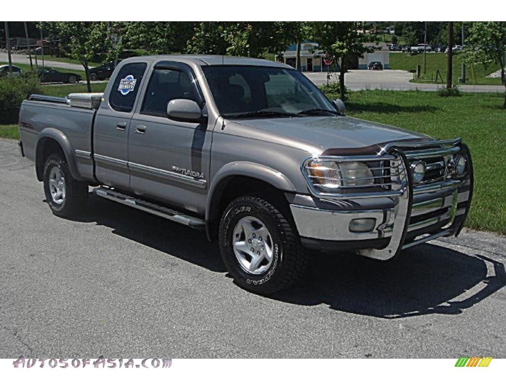 2002 toyota tundra limited access cab 4x4 in thunder gray metallic photo 5 322524 autos of. Black Bedroom Furniture Sets. Home Design Ideas