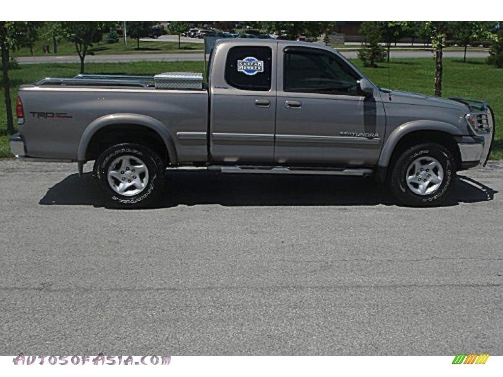 2002 toyota tundra limited access cab 4x4 in thunder gray metallic photo 2 322524 autos of. Black Bedroom Furniture Sets. Home Design Ideas