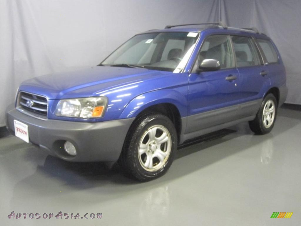 2003 subaru forester 2 5 x in pacifica blue metallic 723826 autos of asia japanese and. Black Bedroom Furniture Sets. Home Design Ideas