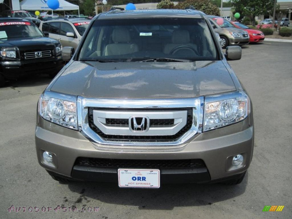 2011 Honda Pilot Ex L In Mocha Metallic Photo 2 014736 Autos Of Asia Japanese And Korean