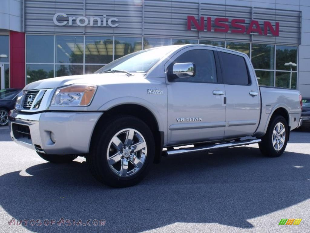 2010 Nissan Titan Se Heavy Metal Chrome Edition Crew Cab