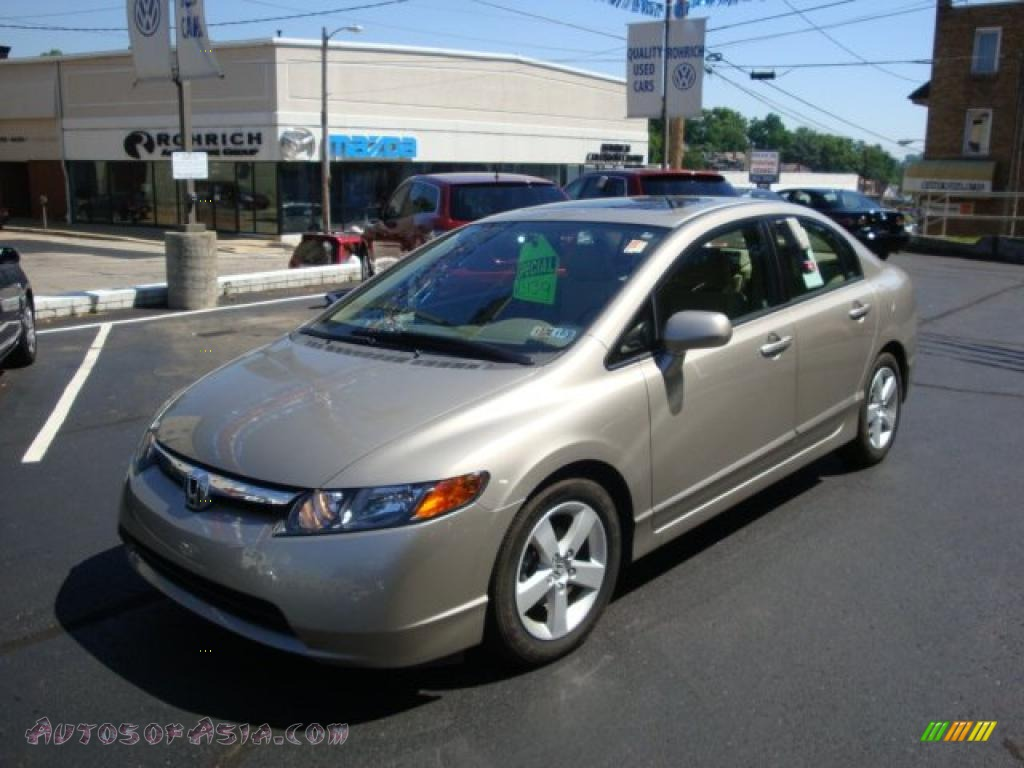 2006 honda civic ex sedan in shoreline mist metallic for Long beach honda dealer