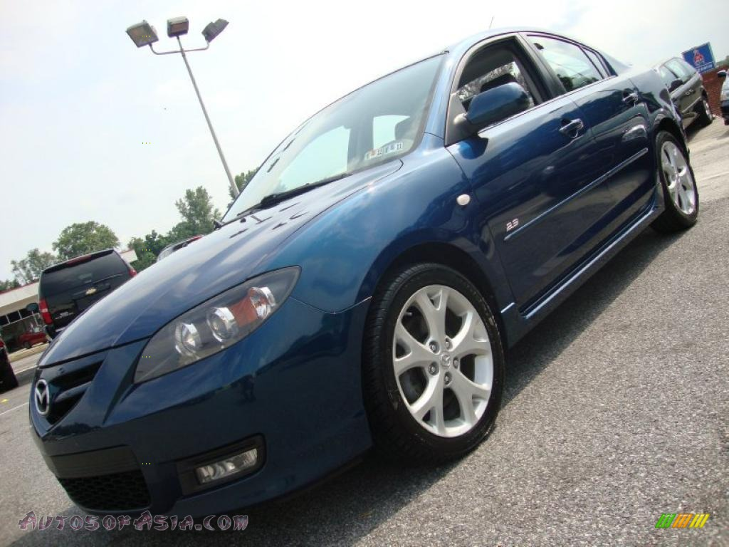 2007 mazda mazda3 s grand touring sedan in phantom blue mica photo 15 653570 autos of asia. Black Bedroom Furniture Sets. Home Design Ideas