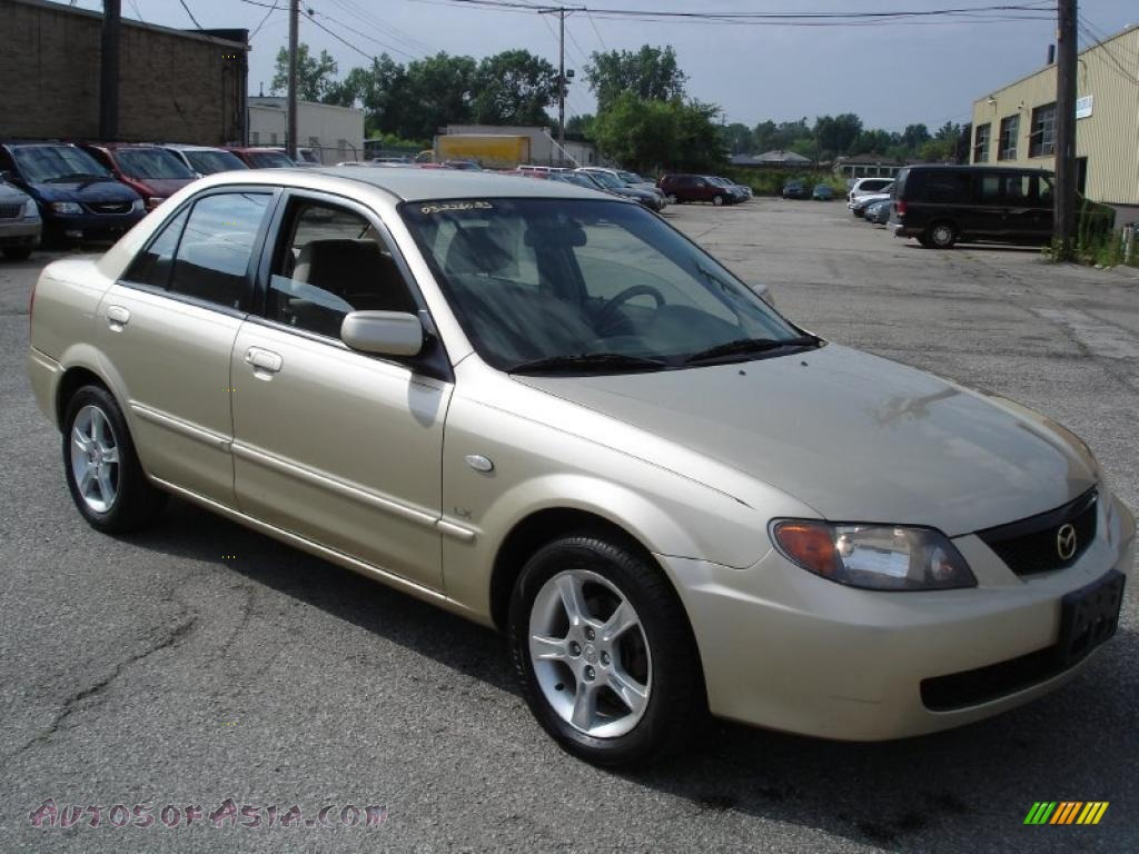 2003 Mazda Protege Lx In Light Sandalwood Metallic 162151 Autos Of Asia Japanese And