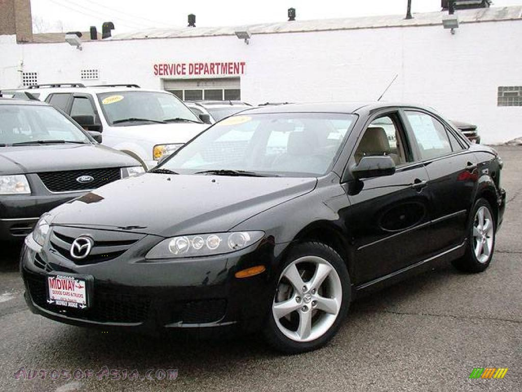 2008 mazda mazda6 i touring sedan in onyx black m35774 autos of asia japanese and korean. Black Bedroom Furniture Sets. Home Design Ideas