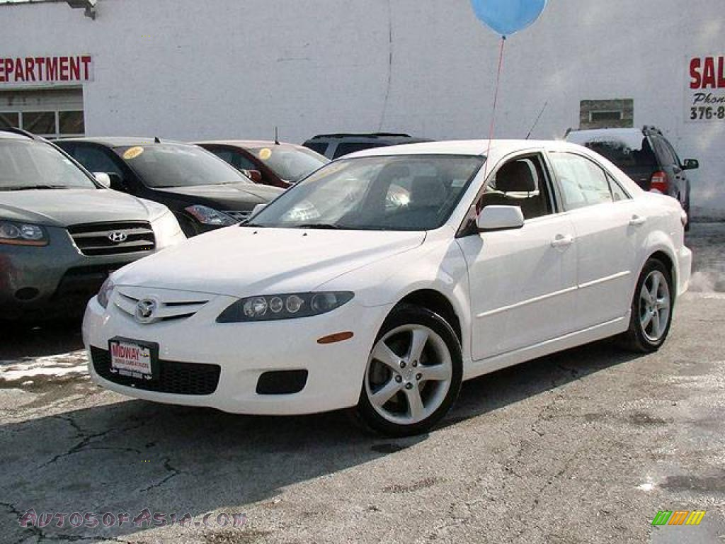 2008 mazda mazda6 i touring sedan in performance white m35702 autos of asia japanese and. Black Bedroom Furniture Sets. Home Design Ideas