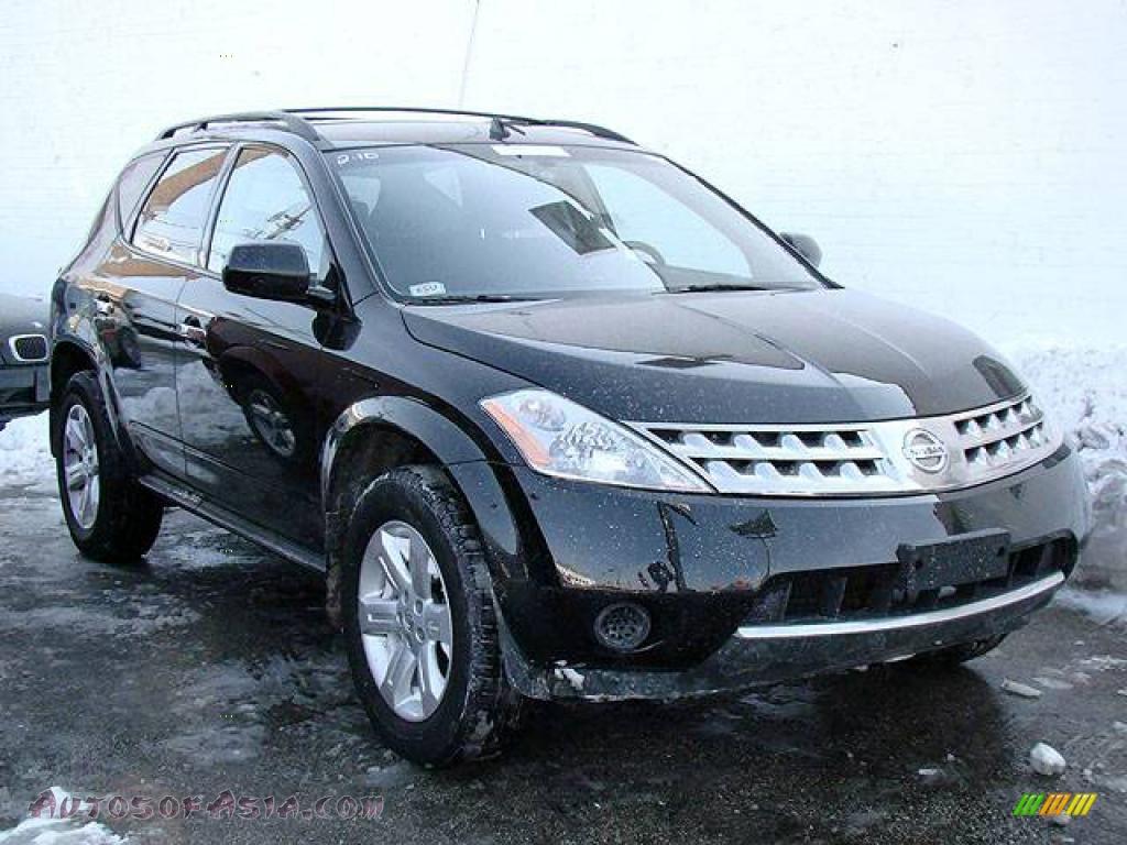 2006 Nissan Murano S Awd In Super Black 544867 Autos