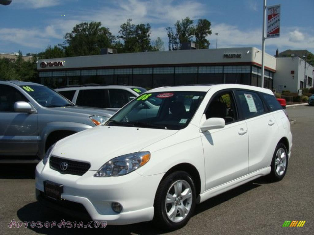 2008 Toyota Matrix Xr In Super White 714276 Autos Of