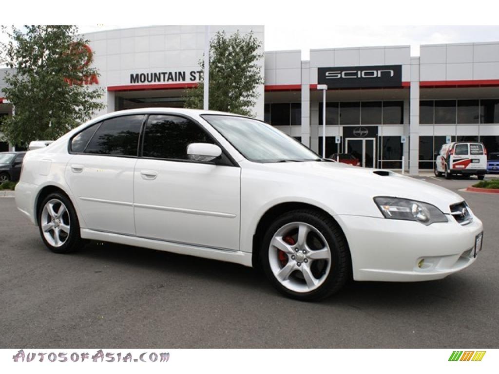 2006 subaru legacy 2 5 gt limited sedan in satin white pearl 208482 autos of asia japanese. Black Bedroom Furniture Sets. Home Design Ideas