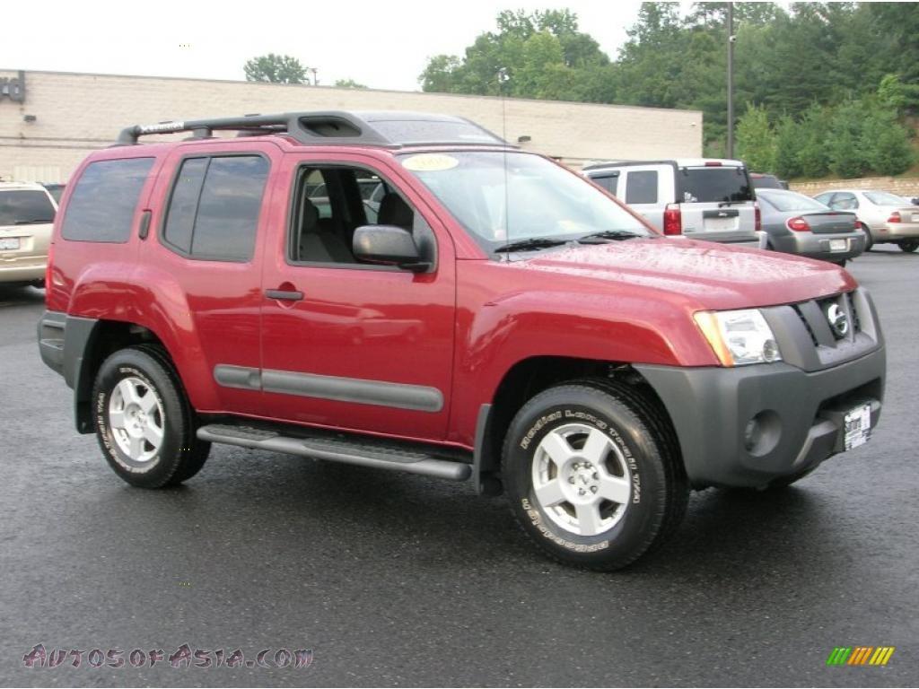 2006 Nissan Xterra Se 4x4 In Red Brawn Pearl 539578