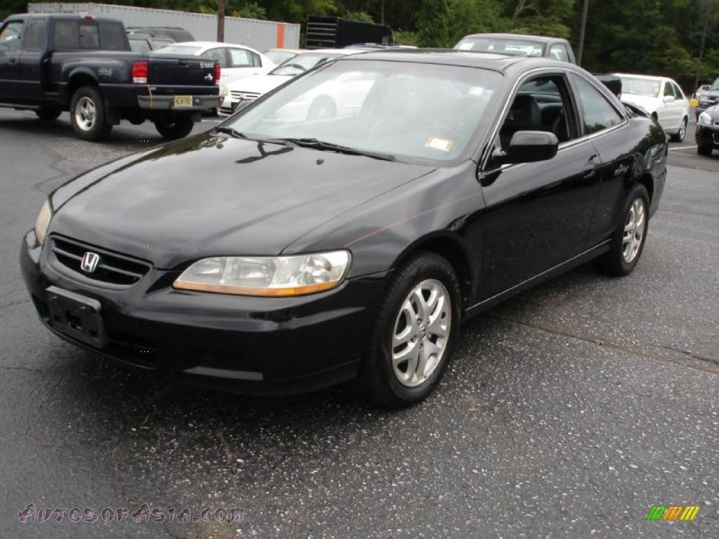 2001 honda accord ex v6 coupe in nighthawk black pearl 003007 autos of asia japanese and. Black Bedroom Furniture Sets. Home Design Ideas