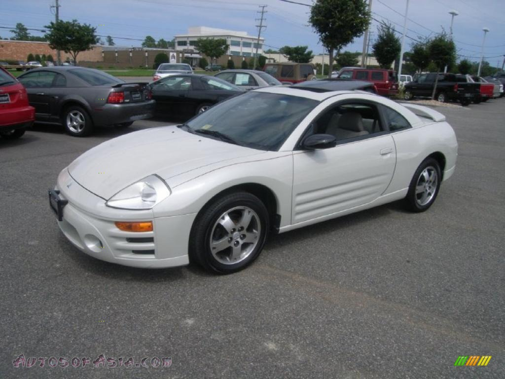 2003 mitsubishi eclipse gs coupe in dover white pearl 199068 autos of asia japanese and. Black Bedroom Furniture Sets. Home Design Ideas