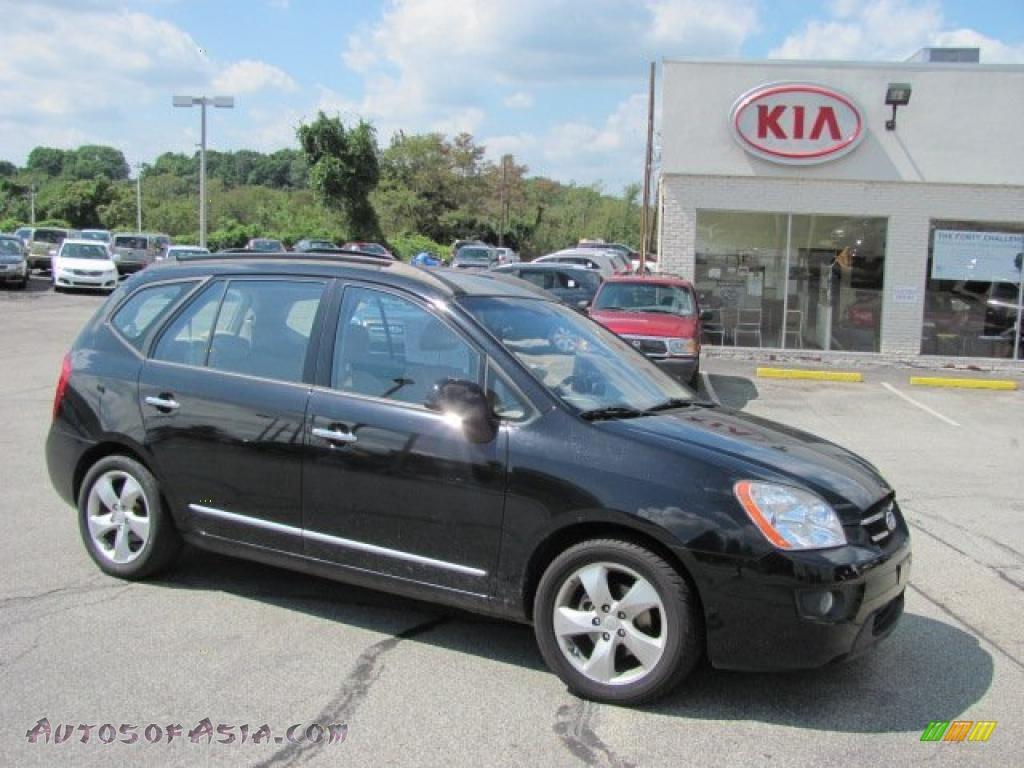 Jim Shorkey Kia >> 2008 Kia Rondo LX V6 in Black Cherry photo #4 - 205277   Autos of Asia - Japanese and Korean ...