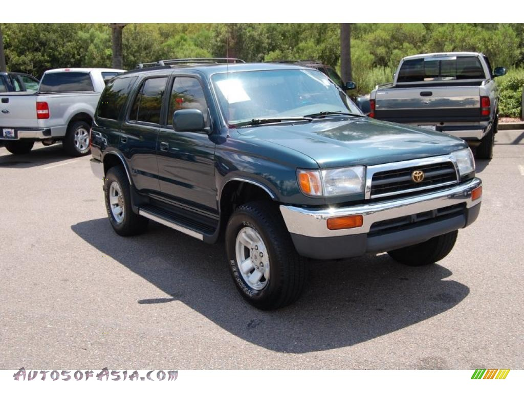 1998 toyota 4runner sr5 4x4 in evergreen pearl 157780 autos of asia japanese and korean. Black Bedroom Furniture Sets. Home Design Ideas