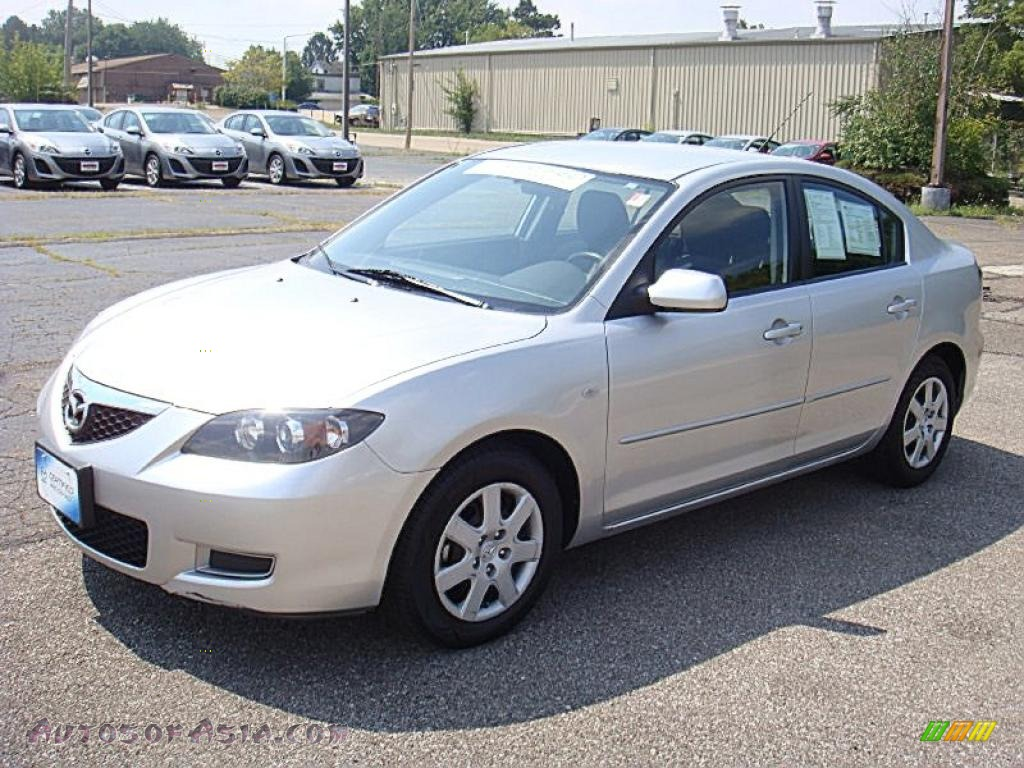 2009 mazda mazda3 i sport sedan in sunlight silver. Black Bedroom Furniture Sets. Home Design Ideas