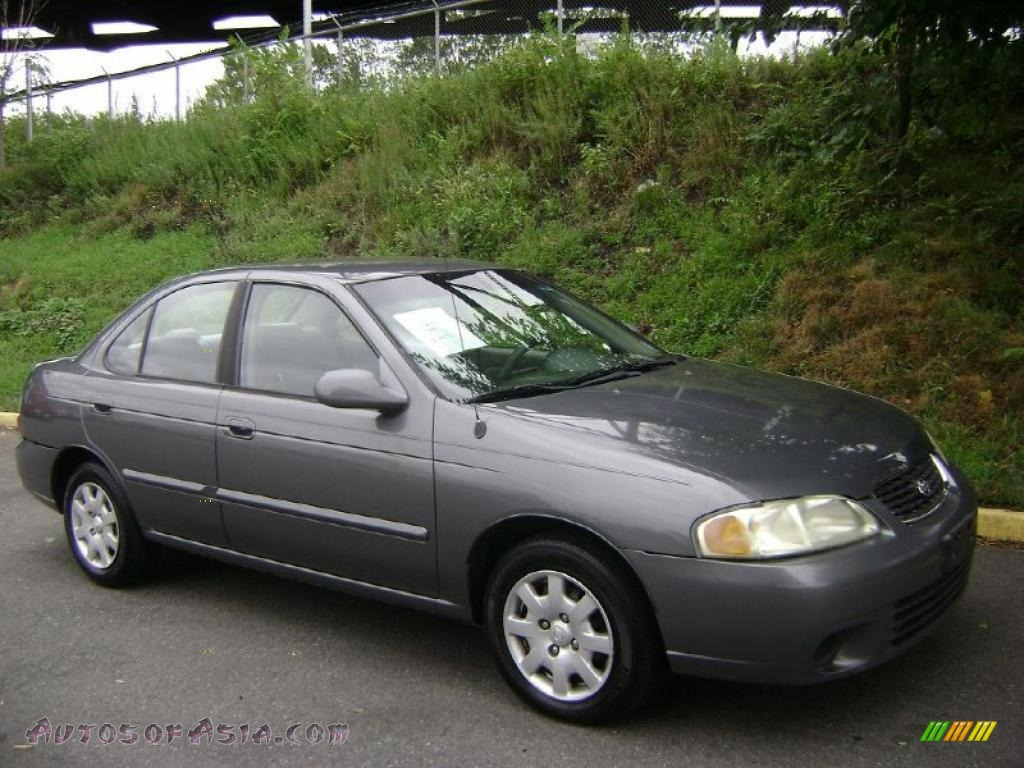2001 nissan sentra gxe in granite gray 472628 autos of. Black Bedroom Furniture Sets. Home Design Ideas