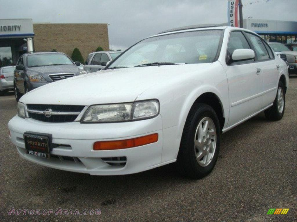 1998 nissan maxima gle in arctic white pearl metallic 511179 autos of asia japanese and. Black Bedroom Furniture Sets. Home Design Ideas