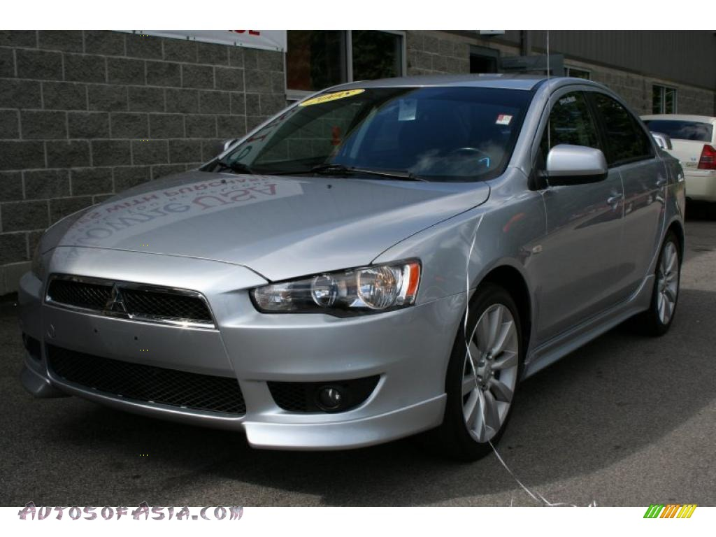 2008 mitsubishi lancer gts in apex silver metallic 026360 autos of asia japanese and. Black Bedroom Furniture Sets. Home Design Ideas