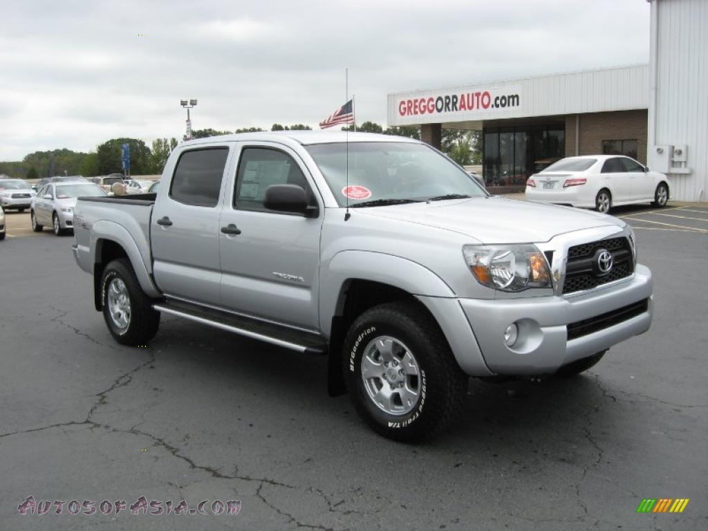 2011 Toyota Tacoma V6 Trd Prerunner Double Cab In Silver
