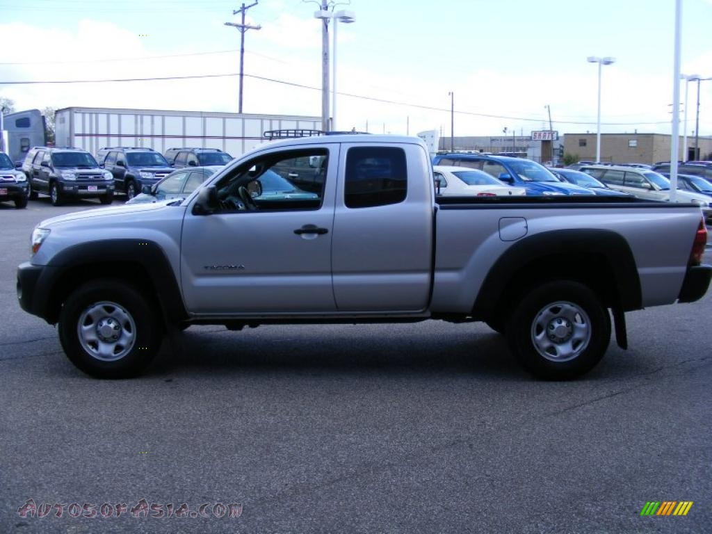 2005 toyota tacoma v6 access cab 4x4 in silver streak mica. Black Bedroom Furniture Sets. Home Design Ideas