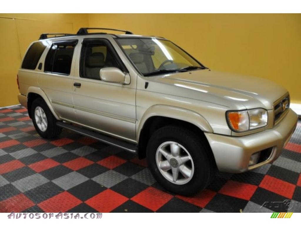 2000 nissan pathfinder le 4x4 in sahara beige metallic 426159 autos of asia japanese and. Black Bedroom Furniture Sets. Home Design Ideas