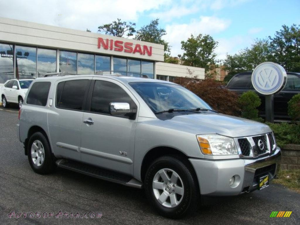 2005 nissan armada le 4x4 in silver lightning - 704796 | autos of