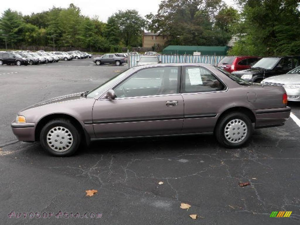 1993 Honda Accord Lx Coupe In Rosewood Brown Metallic