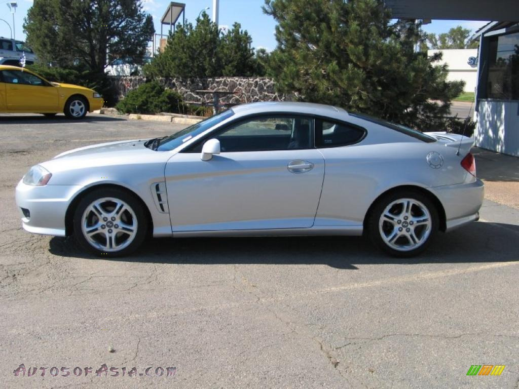 2005 Hyundai Tiburon Gt In Sterling Silver 174550