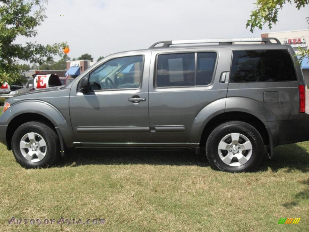 2005 nissan pathfinder xe 4x4 in storm gray metallic. Black Bedroom Furniture Sets. Home Design Ideas