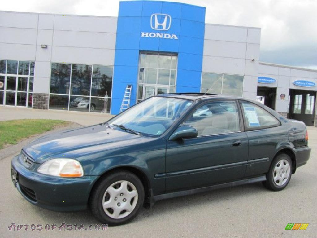 1998 Honda Civic Ex Coupe In Cypress Green Pearl 025815