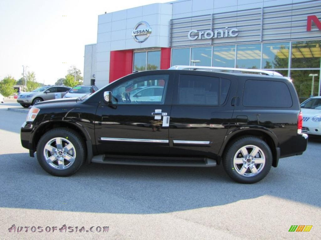 2011 nissan armada platinum in galaxy black photo 2 602650 autos of asia japanese and. Black Bedroom Furniture Sets. Home Design Ideas