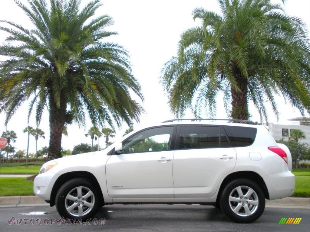 2008 Toyota Rav4 Limited In Blizzard Pearl White 081714
