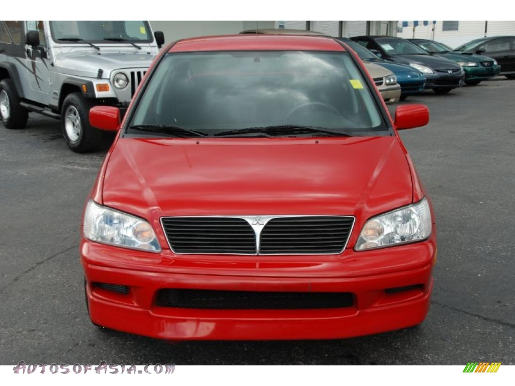 2003 mitsubishi lancer oz rally in phoenix red photo 5 046278 autos of asia japanese and. Black Bedroom Furniture Sets. Home Design Ideas