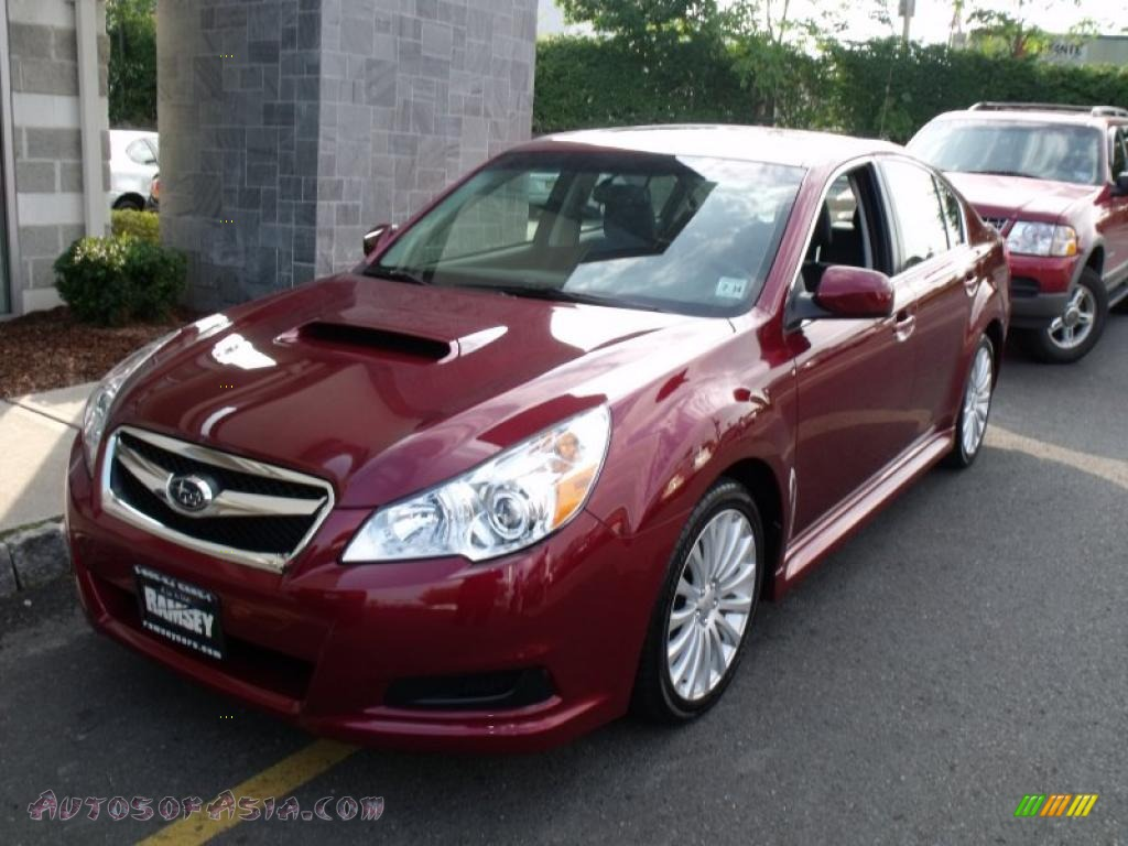 2010 subaru legacy 2 5 gt limited sedan in ruby red pearl 212794 autos of asia japanese. Black Bedroom Furniture Sets. Home Design Ideas