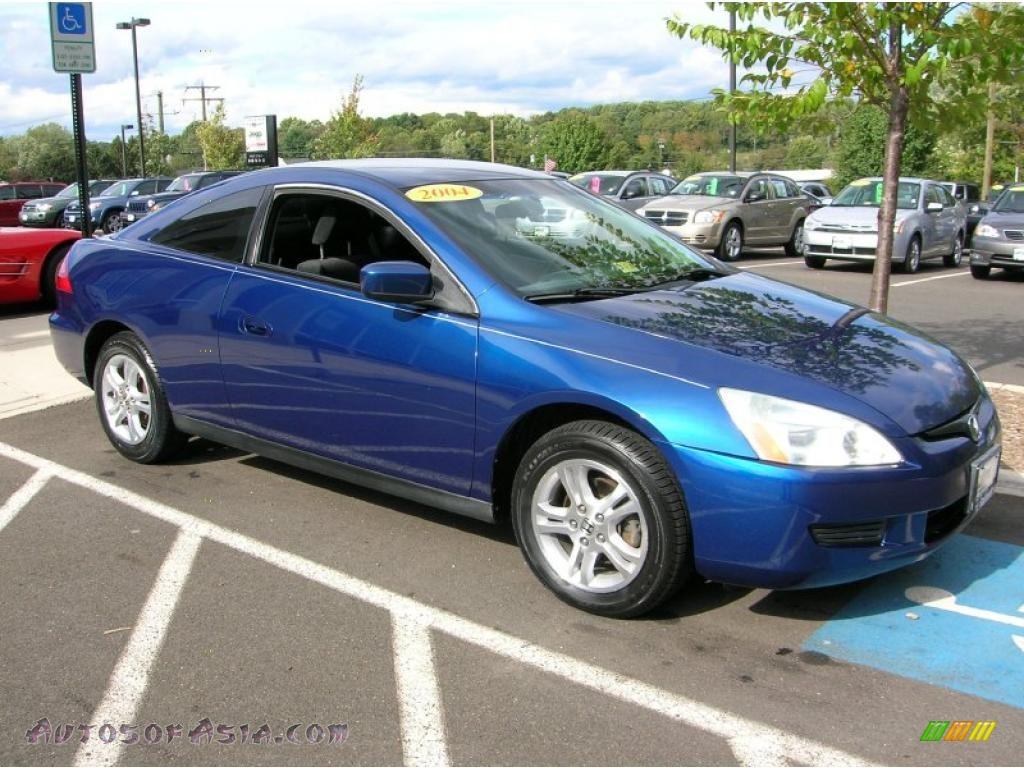 2004 honda accord lx coupe in sapphire blue pearl 006048 autos of. Black Bedroom Furniture Sets. Home Design Ideas
