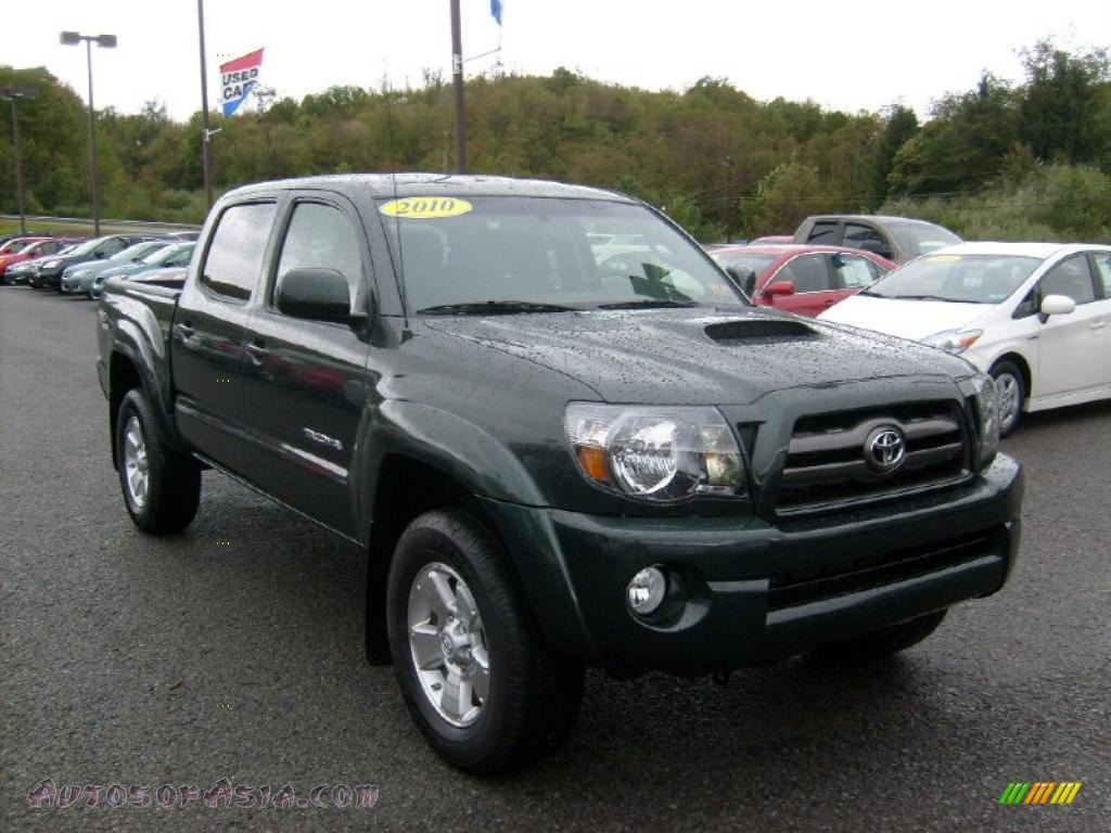 2010 toyota tacoma v6 sr5 trd sport double cab 4x4 in timberland mica 038119 autos of asia. Black Bedroom Furniture Sets. Home Design Ideas