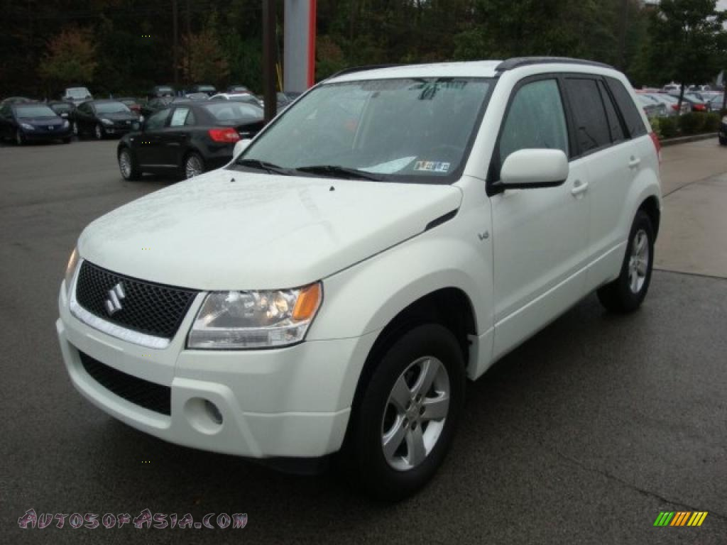 2006 suzuki grand vitara xsport 4x4 in white pearl photo 5 101223 autos of asia japanese. Black Bedroom Furniture Sets. Home Design Ideas