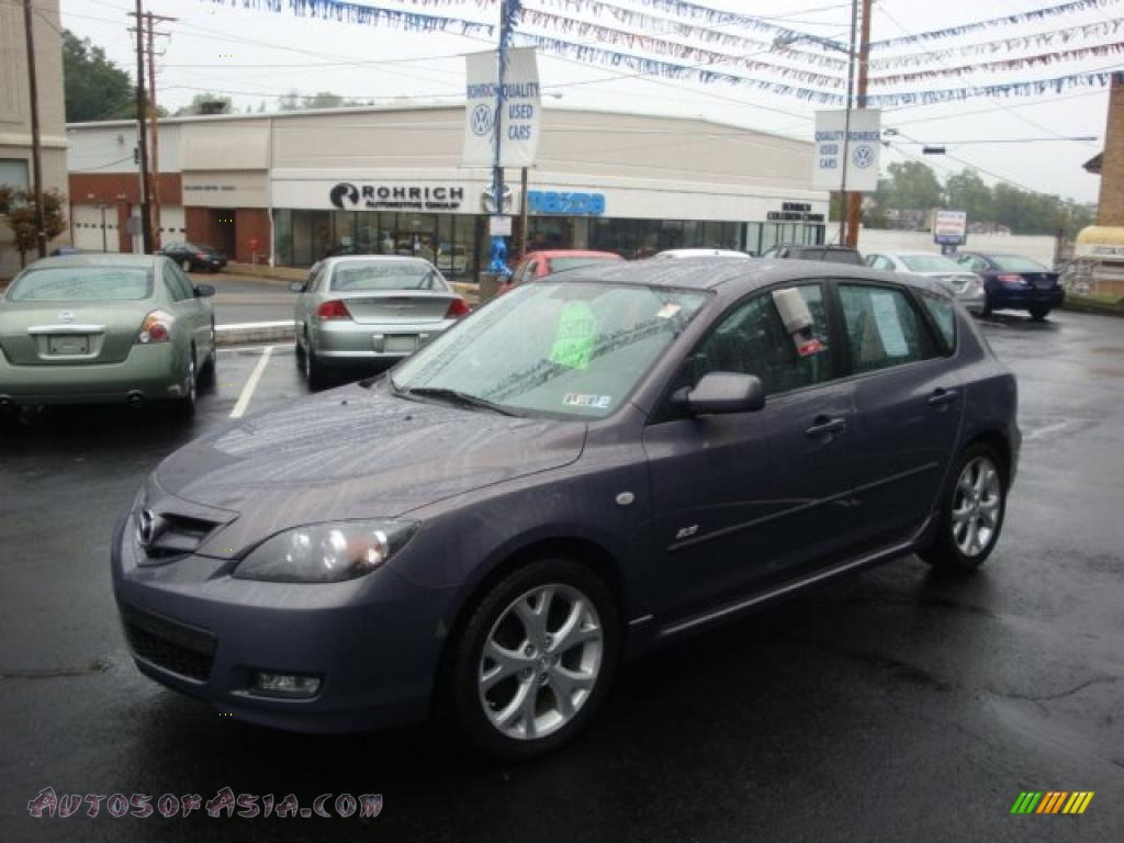 2007 mazda mazda3 s touring hatchback in galaxy gray mica. Black Bedroom Furniture Sets. Home Design Ideas