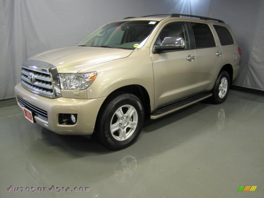 2008 toyota sequoia limited 4wd in desert sand metallic 003730 autos of asia japanese and. Black Bedroom Furniture Sets. Home Design Ideas