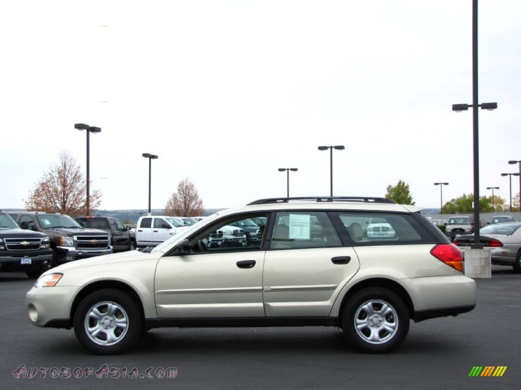 Denny Menholt Honda >> 2007 Subaru Outback 2.5i Wagon in Champagne Gold Opal - 337493   Autos of Asia - Japanese and ...